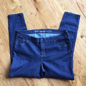 Old Navy super skinny jeans mid-rise sz 18